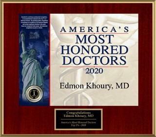 America's Most Honored Doctors